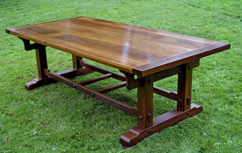 large tressel table